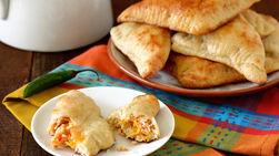 Pizzettas de Pollo con Sazón de Taco