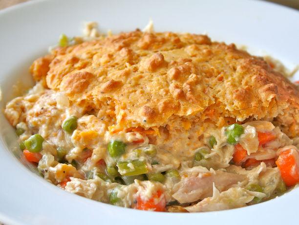 Turkey Sweet Potato Potpie