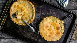 Easy Individual Turkey Pot Pies