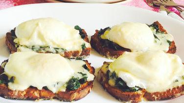 Poached Egg Tostadas