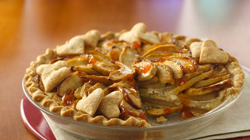 Easy Apple Cream Pie