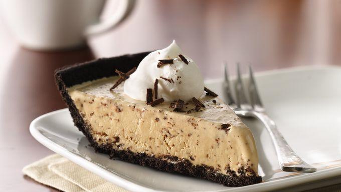 Frozen Hazelnut-Mocha Pie