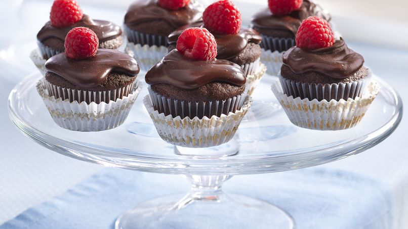 Chocolate Ganache Mini Cakes