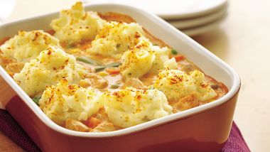 Chicken Paprika Shepherd's Pie