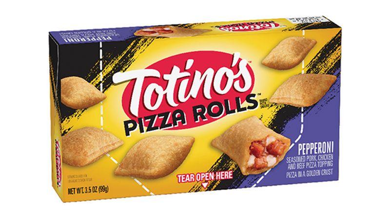 Totinos Pizza Rolls Frozen Hot Snacks Single Serve