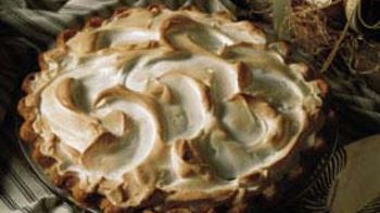 Rhubarb Meringue Pie