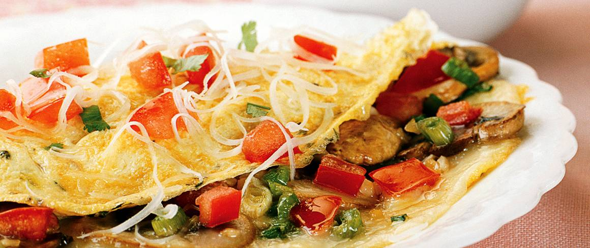 Skinny Provençal Omelet recipe from Betty Crocker