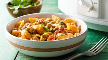 Slow-Cooker Taco Pasta