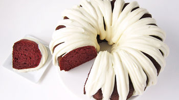 Easy Red Velvet Pound Cake