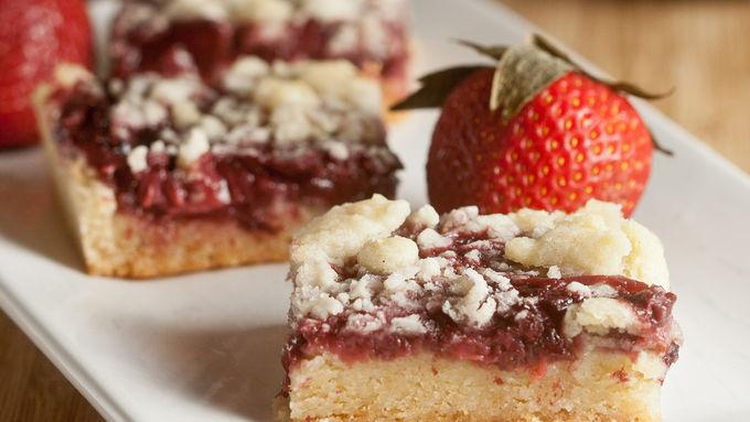 Strawberry-Shiraz Bars