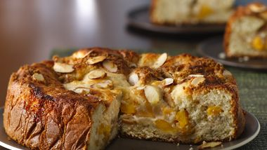 Peach-Almond Coffee Cake