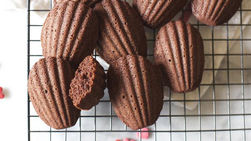 Chocolate and Chipotle Madeleines