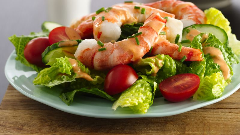 Shrimp Salad with Zesty Dressing
