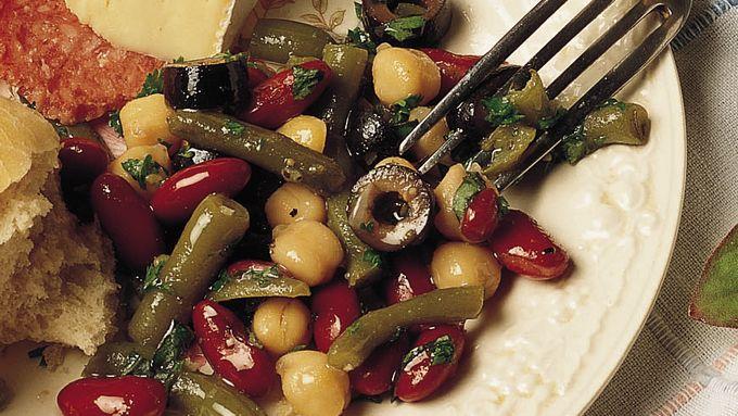 Easy Mixed-Bean Salad