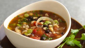Bean and Barley Soup