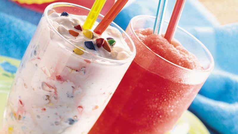 Icy Fruit Slushes