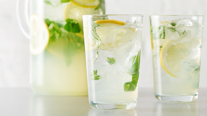 Basil Lemonade Punch