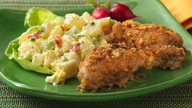 Crispy Buttermilk Oven-Fried Chicken (Makeover)