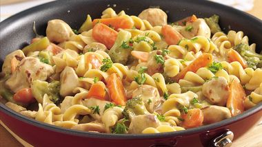 Chicken and Noodles Skillet