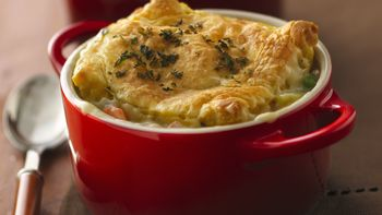 Individual Chicken Pot Pies