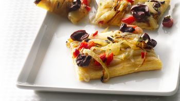 Caramelized-Onion Squares with Olives