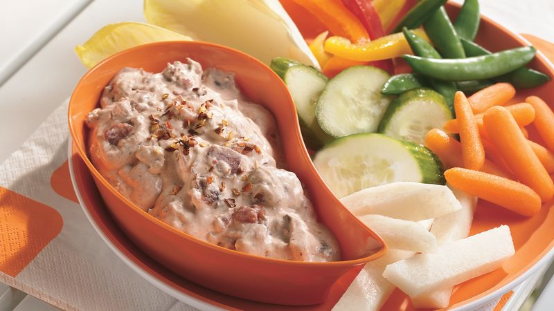 Spicy Fire Roasted Cream Cheese Dip