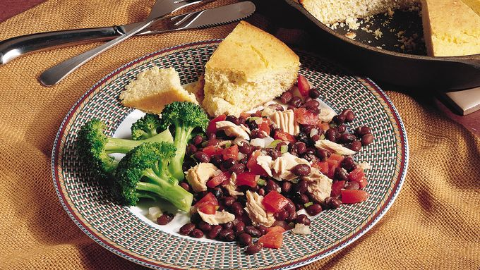 Southwest Tuna and Black Beans