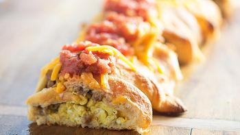 Tex-Mex Breakfast Braid