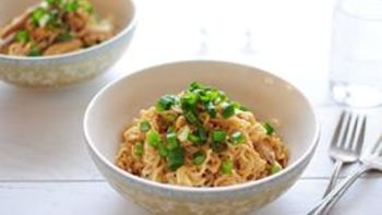 4-Ingredient Peanut Chicken Ramen