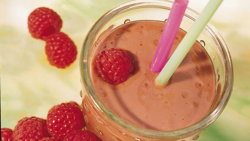 Gluten-Free Chocolate Raspberry Shake