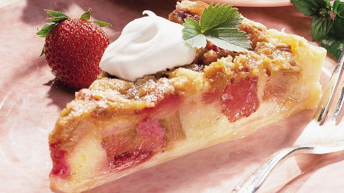 Rhubarb Brunch Cake