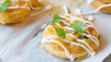 Chicken Enchilada Bites