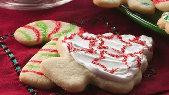 Stained Glass and Holiday Sprinkle Cookies