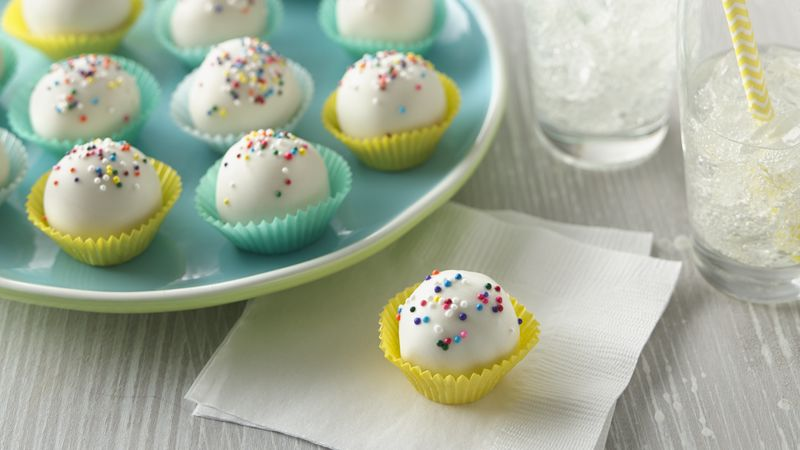 Sugar Cookie Truffles recipe - from Tablespoon!
