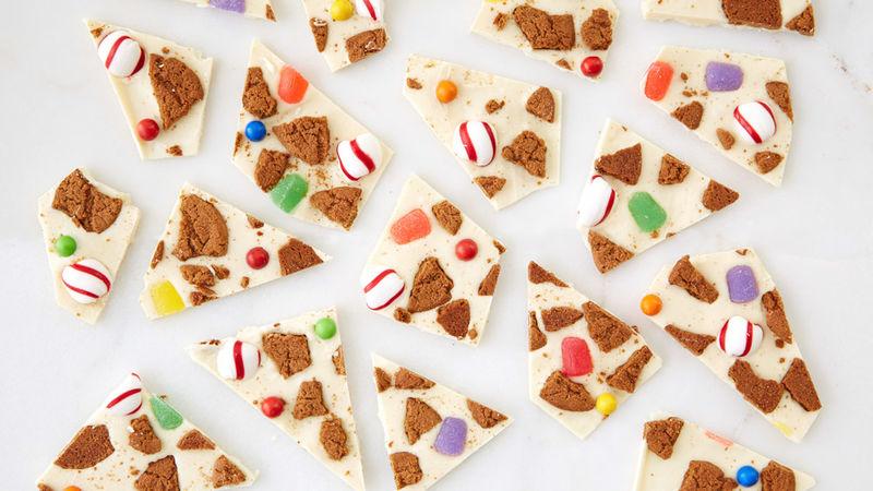 Gingerbread House Bark