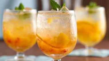 Peachy Orange Cream Cocktail