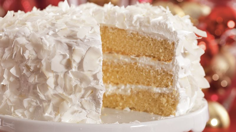 Coconut Cake recipe from Betty Crocker