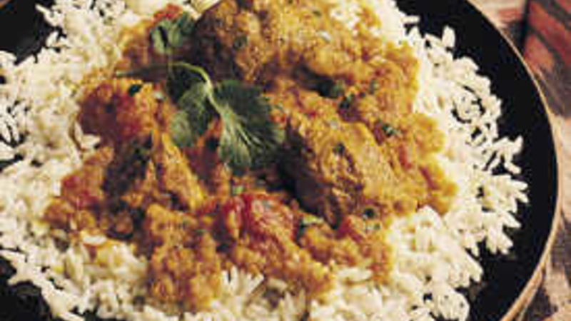 Savory Curried Pork