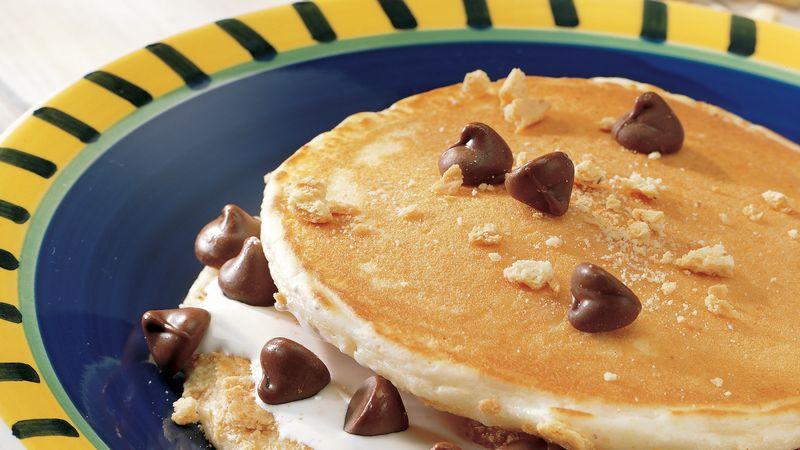 Ooey-Gooey Pancake S'mores