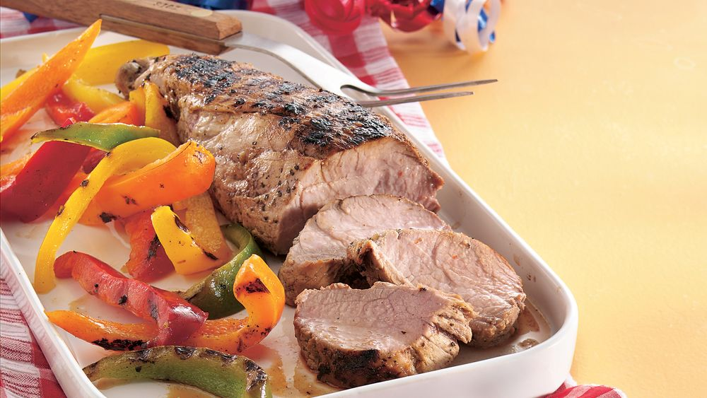 Italian Marinated Pork Tenderloins