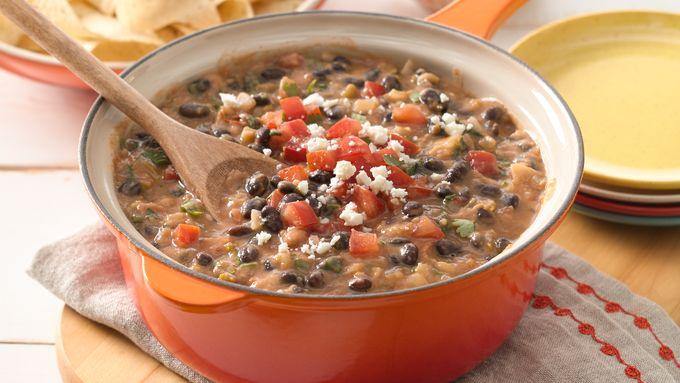 Easy Ranchero Beans