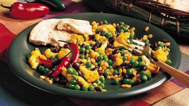 Indian Split Peas with Vegetables
