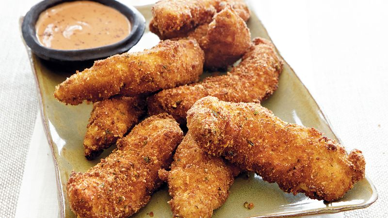 Chicken Tenders with Dipping Sauce