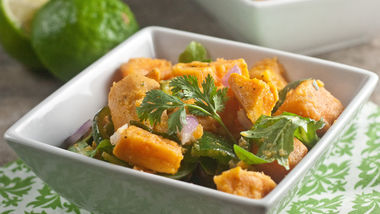 Poblano Sweet Potato Salad