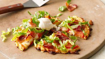Gluten-Free Grain Free BLT Mini Pizzas