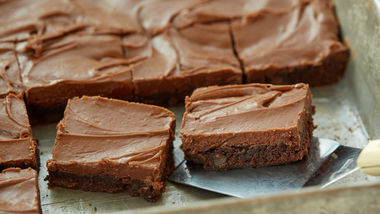 Cinnamon-Mocha Fudge Bars