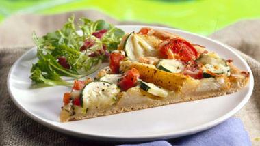 Potato and Tomato Pizza