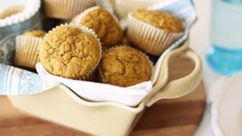 Sweet Potato Carrot Muffins