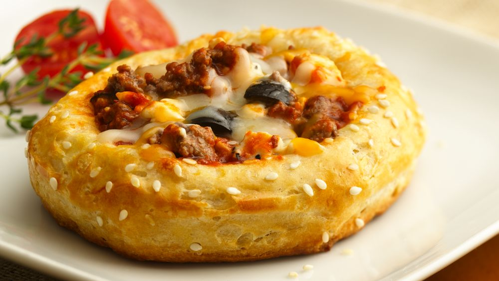 Double Cheeseburger Pizza Rounds