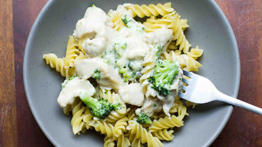 5-Ingredient Broccoli Chicken Alfredo